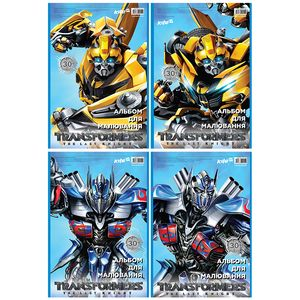 Альбом для рисования 30 листов Transformers Kite TF17-243