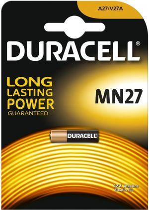 Батарейки DURAСELL мини алкалиновая 12V MN27 (1шт) Бельгия 0157345