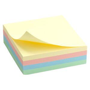Блок бумаги с липким слоем 75x75 мм 250 л пастель Delta D3350