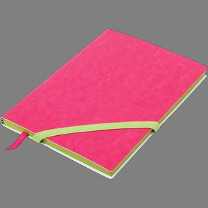 Блокнот деловой LOLLIPOP А5 96 листов, чистый, обложка искусственная кожа Buromax BM.295003