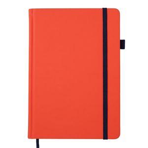Блокнот деловой BRIGHT, А5, 96 л., (чернаня бумага), искусственная кожа, BUROMAX BM.295401