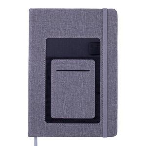 Блокнот деловой COMFORT, А5, 96 л., без линий, искусственная кожа BUROMAX BM.295009