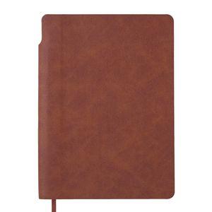 Блокнот деловой FRESH, А5, 96 л., без линий, искусственная кожа BUROMAX BM.295011