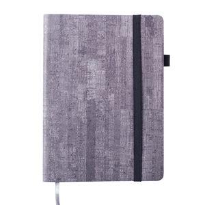 Блокнот деловой WOOD, А5, 96л., линия, искусственная кожа, BUROMAX BM.295214-09