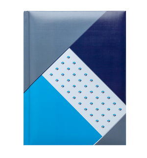 Блокнот FUSION, А-5, 80 листов, клетка, твердая обложка Buromax BM.24582102