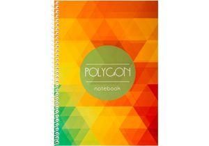 Блокнот Polygon А5 60 л., картон. обложка Economix E21927