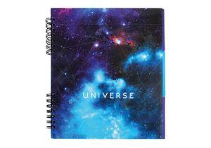 Блокнот Universe с разделителями пласт.обложка Optima O20345