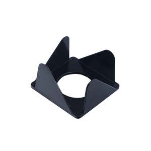 Бокс для бумаги 80х80х45мм, JOBMAX АРНИКА 83051 черный