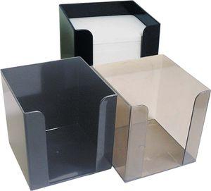 Бокс для бумаги 9х9х9 см Economix E32601