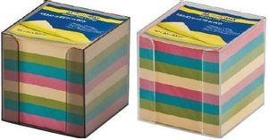 Бокс с цветной бумагой 90х90х90мм BM.2291 Buromax