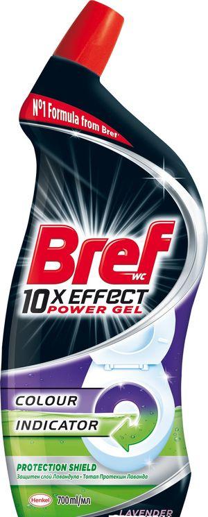Бреф Power 10 в 1 гель для чистки и дезинфекции унитазов 700 мл 0155138