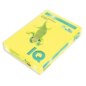 Бумага цветная неон А4 80г/м2 500 листов IQ A4.80.IQN.