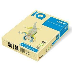 Бумага цветная пастель А4 80г/м2 500 л IQ A4.80.IQP