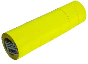 Ценники в бобине прямоугольные тип B 500 шт 22х12 мм ЦН.П.B.