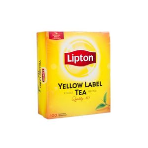 Чай черный Lipton Yellow Label байховый 100*2г/уп