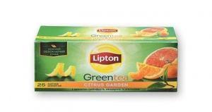 Чай зеленый Lipton Citrus Garden байховый 25*1,4г/уп