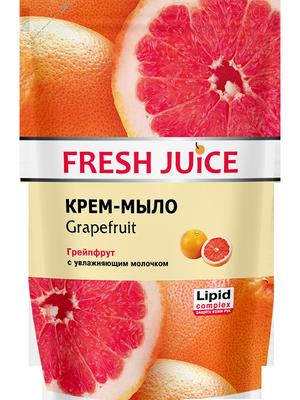 Крем-мыло Дой пак-пакет Fresh Juice грейпфрут 460г с дозатором 0152069