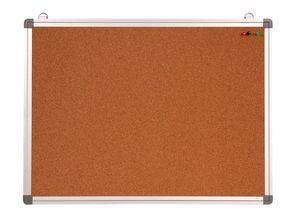 Доска пробковая 60х90см алюминиевая рамка Optima O75125
