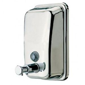 Дозатор SD-280 жидкого мыла (0,5л) нержавеющая сталь матовый 0156360