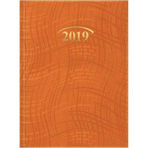 Ежедневник датированный 2019 карманный Wave, Brunnen 73-736 76 40