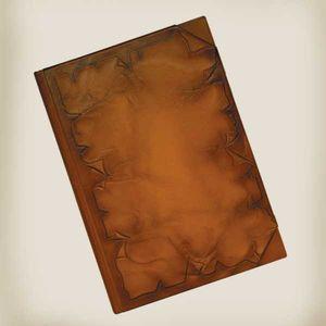 Ежедневник фомат А4, натуральная кожа Пергамент, Foliant