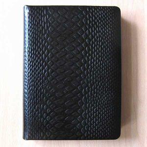 Ежедневник фомат А4, натуральная кожа Змея, Foliant