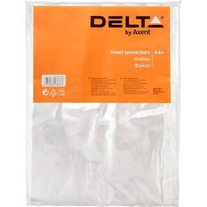 Файл А4+ Эконом 20 мкм глянцевый 100 шт Delta D1003