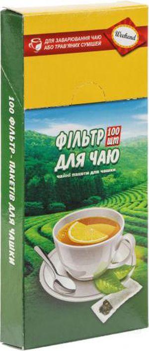 Фильтр-пакеты для чая 7х12cм 100шт для чашки prpt.0289