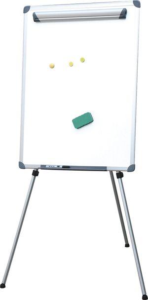 Флипчарт магнитно-маркерный с прижимом, 70х100см Optima O75128