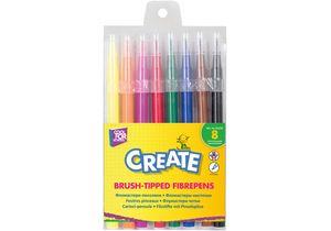 Фломастеры-кисточки Create 8 цветов CF01133