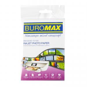 Фотобумага глянцевая 10х15см, 200 г/м2, 100 листов BM.2230-5100 Buromax