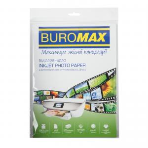 Фотобумага матовая А4, 180 г/м2, 20листов Buromax BM.2225-4020