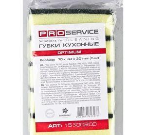 Губка кухонная РRO-Optimum-15300200 6х9х3см 5шт 0146138