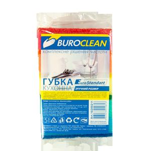 Губки кухонные EuroStandart, 5 шт, 100х70 мм, BuroClean, 10200211