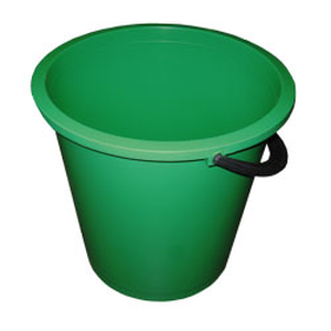 Ведро круглое цветное 10л BuroClean 10300602 ассорти