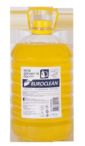 Моющее средство для посуды бесфосфатное, 5л, BuroClean ECO Лимон 10700700