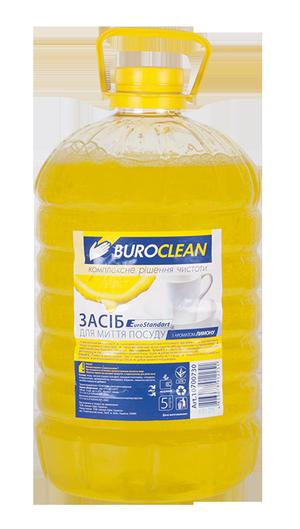 Моющее средство для посуды бесфосфатное, 5л, BuroClean EuroStandart 1070073