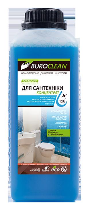 Моющее средство для сантехники бесфосфатное BUROCLEAN SOFT Dez-3 1л BuroClean 10900050