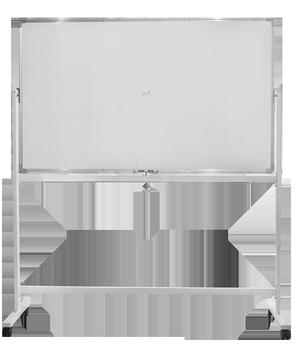 Флипчарт двусторонний магн. для письма маркером 90 х150см горизонтальный ал. рамка Buromax BM.0202