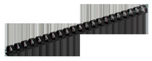 Пружина пластиковая d-19 мм 100 шт.Buromax BM.0506