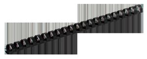 Пружина пластиковая d-38 мм 50 шт.Buromax BM.0511