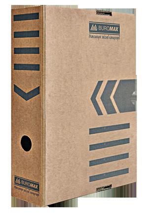 Бокс для архивации документов 80 мм JOBMAX Buromax BM.3260-34 крафт