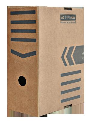 Бокс для архивации документов 150 мм JOBMAX Buromax BM.3262-34 крафт