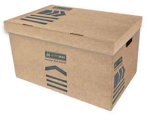 Короб для архивных боксов Buromax JOBMAX BM.3270-34 крафт