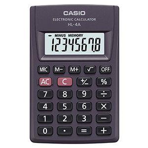 Калькулятор карманный 8-разрядный Casio HL-4A-S-EP