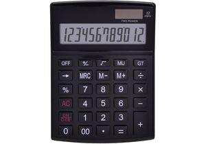 Калькулятор настольный 12 разрядов 146 * 105 * 26 мм Optima O75529