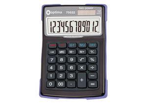Калькулятор настольный 12 разрядов водонепроницаемый 156*103*38 мм Optima O75532