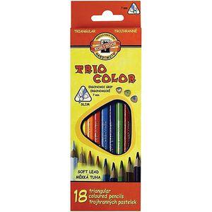 Карандаши цветные 18 Triocolor Koh-i-Noor 3133