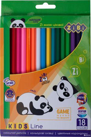 Карандаши цветные 24 KIDS LINE ZiBi ZB.2415