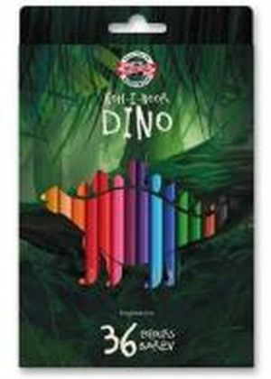 Карандаши цветные 36 Dino Koh-i-Noor 3595036007KS